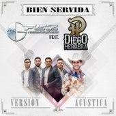 Bien Servida (Versión Acústica) (feat. Diego Herrera) by Los G-Fez