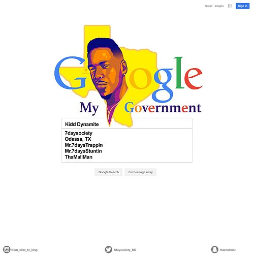 Google My Government by Kid Dynamite