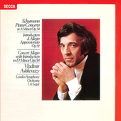 Schumann: Piano Concerto; Concert Allegro; Introduction & Allegro by Various Artists