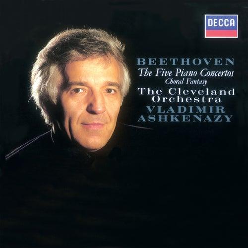 Beethoven: Piano Concertos Nos. 1-5; Choral Fantasia by Cleveland Orchestra