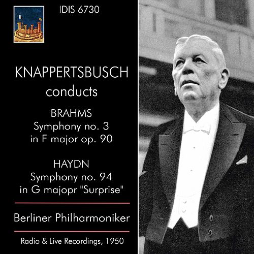 Brahms: Symphony No. 3 - Haydn: Symphony No. 94 by Berliner Philharmoniker
