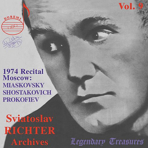 Richter Archives, Vol. 9: Moscow 1974 Recital (Live) by Sviatoslav Richter