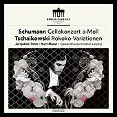 Schumann: Cello Concerto in A Minor, Op. 129 - Tschaikowsky: Variations on a Rococo Theme, Op. 33 by Gewandhausorchester Leipzig Jürnjakob Timm
