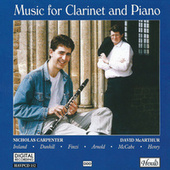 Music for Clarinet and Piano by David McArthur