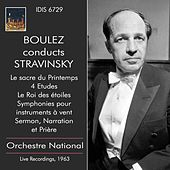 Boulez Conducts Stravinsky by Various Artists