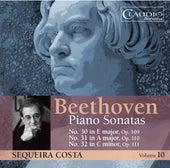 Beethoven: Piano Sonatas, Vol. 10 by Sequeira Costa