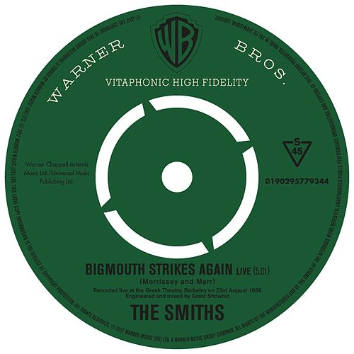 Bigmouth Strikes Again (Live) di The Smiths