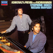 Rachmaninov: Symphonic Dances; Russian Rhapsody by André Previn