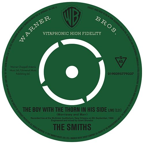 The Boy With the Thorn In His Side (Live) di The Smiths
