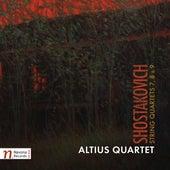 Shostakovich: String Quartets Nos. 7, 8 & 9 by Altius Quartet