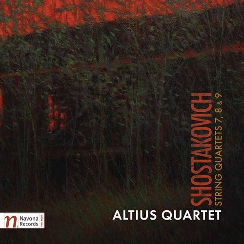 Shostakovich: String Quartets Nos. 7, 8 & 9 von Altius Quartet