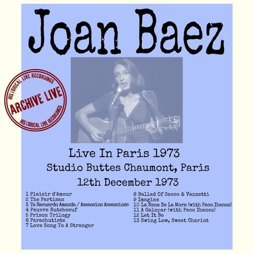 Live in Paris 1973 de Joan Baez