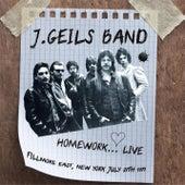 Homework... Live (Fillmore East, New York July 27th 1971) von J. Geils Band