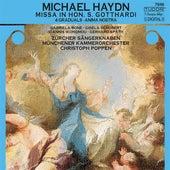 Play & Download HAYDN, M.: Missa Sancti Gotthardi / Alleluia! / Anima nostra / Effuderunt sanguinem (Poppen) by Christoph Poppen | Napster