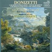 Play & Download DONIZETTI, G.: Flute Quartets Nos. 6, 7, 9, and 16 (Kodaly Quartet) by Kodaly Quartet | Napster