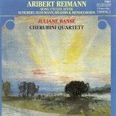 REIMANN, A.: Song Cycles after Schubert, Brahms, Schumann and Mendelssohn (Banse, Cherubini Quartet) by Juliane Banse