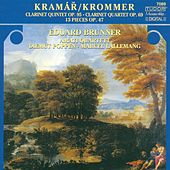KROMMER, F.: 13 Pieces / Clarinet Quintet, Op. 95 / Partita, Op. 69 (Amati Quartet) by Eduard Brunner