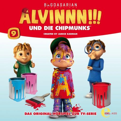 Folge 9: Alvins geheime Kräfte (Das Original-Hörspiel zur TV-Serie) von Alvinnn!!! und die Chipmunks