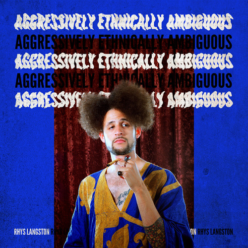 Aggressively Ethnically Ambiguous by Rhys Langston