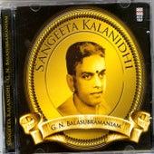 Sangeeta Kalanidhi by G.N Balasubramaniam