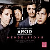 Mendelssohn: String Quartet No. 2 in A Minor, Op. 13: III. Intermezzo by Quatuor Arod