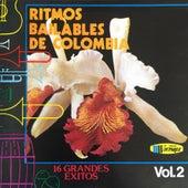 Ritmos Bailables de Colombia (Vol. 2 (16 Grandes Exitos)) by Various Artists