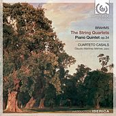 Brahms: The String Quartet & Piano Quintet, Op. 34 by Cuarteto Casals