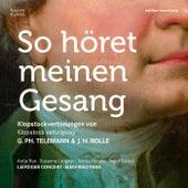 So höret meinen Gesang (So hear my voice) - Klopstock settings by Georg Philipp Telemann and Johann Heinrich Rolle by Various Artists