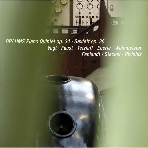 Brahms: Piano Quintet in F Minor, Op. 34 & Sextet No. 2 in G Major, Op. 36 (Live) by Various Artists