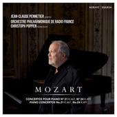Mozart: Piano Concertos No. 21 & No. 24 by Orchestre Philharmonique de Radio France and Christoph Poppen Jean Claude Pennetier