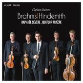 Brahms & Hindemith: Clarinet Quintets by Raphaël Sévère and Pražák Quartet