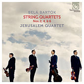 Belá Bartók: String Quartets Nos. 2, 4, & 6 by Jerusalem Quartet