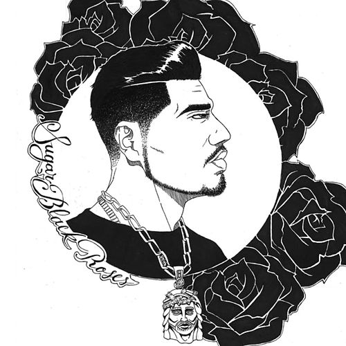 Sugar Black Roses by K-Oz