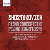 Shostakovich: Piano Sonatas Nos. 1-2 & Piano Concertos Nos. 1-2 by Peter Donohoe