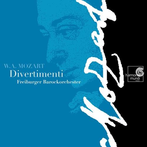 Mozart: Divertimenti by Freiburger Barockorchester
