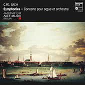 C.P.E. Bach: Symphonies & Concertos by Various Artists