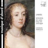 Lawes: Sonatas for Violin, Bass Viol & Organ by Various Artists