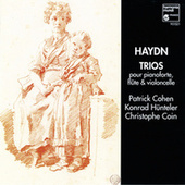 Haydn: Flute Trios & Trios pour flûte, violoncelle et pianoforte by Konrad Hünteler and Patrick Cohen Christophe Coin