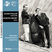 Schnittke, Shostakovitch & Prokofiev:  Cello Sonatas by Huseyin Sermet and Xavier Phillips