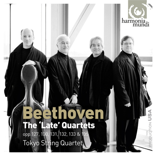 Beethoven: The Late String Quartets by Tokyo String Quartet