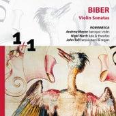Biber: Violin Sonatas by Romanesca and Andrew Manze