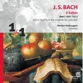 J.S. Bach: 6 Suites BWV 1007-1012 transcribed for recorder by Marion Verbruggen