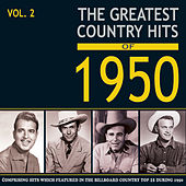 Greatest Country Hits of 1950, Vol. 2 von Various Artists