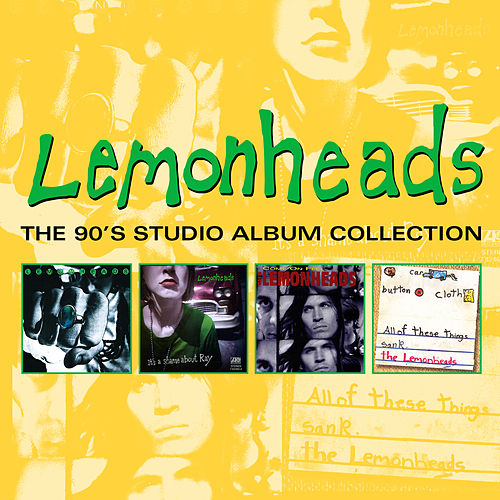 The 90's Studio Album Collection by The Lemonheads