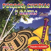 Porros Cumbias y Gaitas, Vol. 2 by Various Artists
