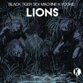 Lions by YOOKiE Black Tiger Sex Machine