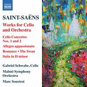 Saint-Saëns: Works for Cello & Orchestra by Gabriel Schwabe