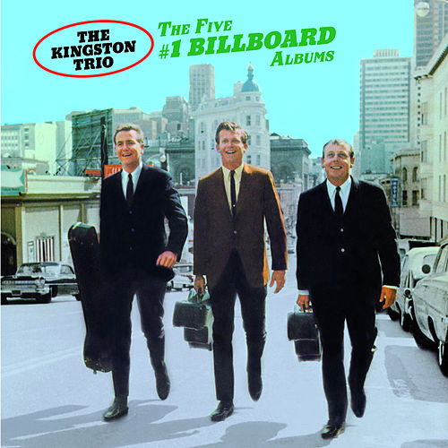 The Five #1 Billboard Albums by The Kingston Trio