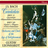 J.S. Bach: Easter Oratorio; Ascension Oratorio de Gustav Leonhardt