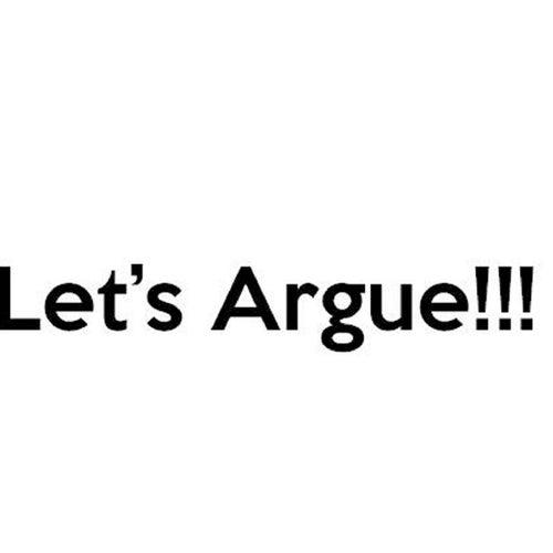 Let's Argue by WAR